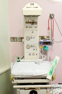 Baby bed hospital
